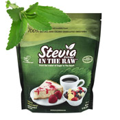 Stevia Leaf and Sugar Package